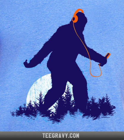 Sasquatch By the Light of the Moon